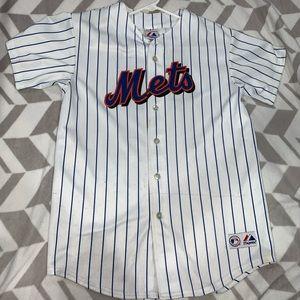 Johan Santana Kids XL Mets Jersey
